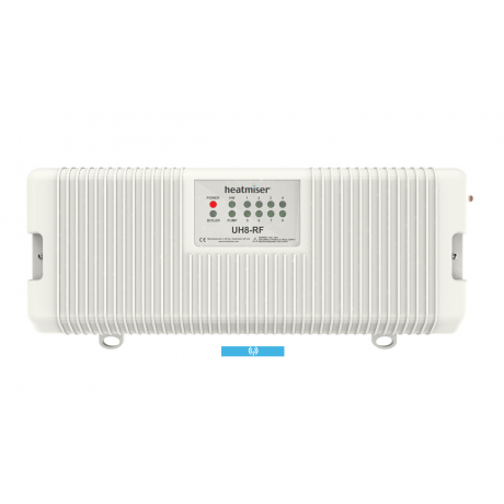 Heatmiser UH8-RF Wireless 8 Zone Wiring Centre