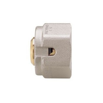 Pipe Connector For Multi-Layer Pipes, Nickel-Plated