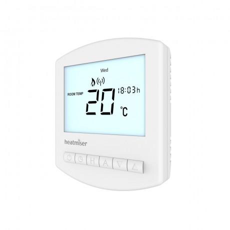 Heatmiser Slimline RF Wireless Programmable Thermostat