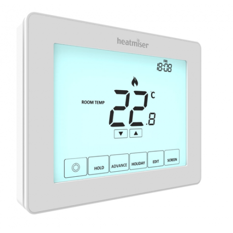 Heatmiser Touch v2 - Multimode Touchscreen Thermostat